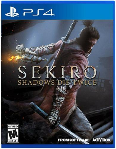 sekiro shadows die twice  ps4  nuevo sellado + garantia