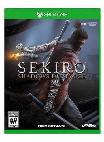 sekiro shadows die twice xbox one no código