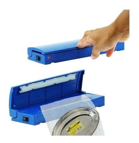 selador de embalagens e alimentos portatil a pilha 20cm