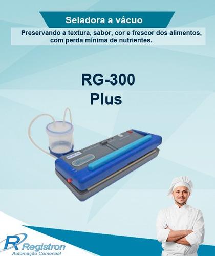seladora a vácuo rg-300 plus,embaladora a vácuo comercial