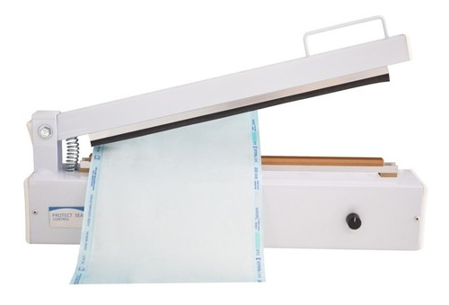 seladora manual agir control beep papel grau cirúrgico 35-cm
