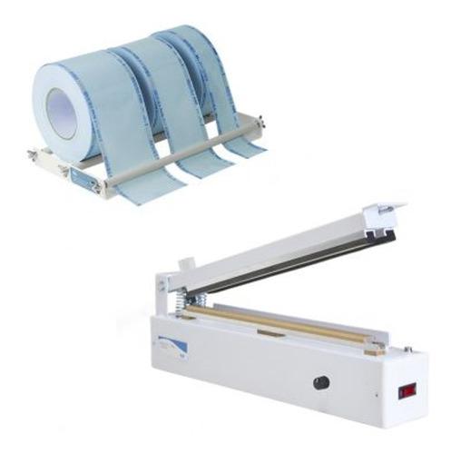 seladora manual agir control plus kit beep papel grau 35-cm