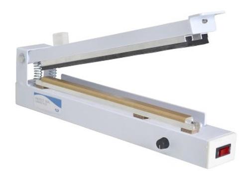 seladora manual agir control plus kit grau/plástico 31-cm