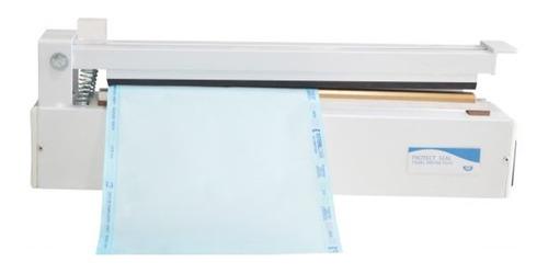 seladora manual agir digital plus kit beep papel grau 35-cm