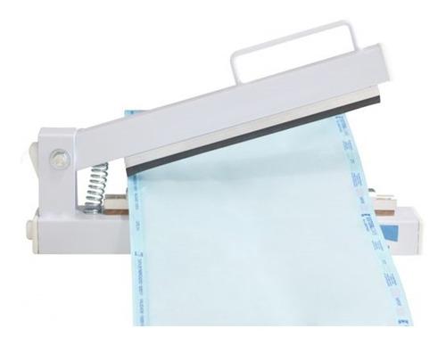 seladora manual agir junior papel grau cirúrgico 21-cm