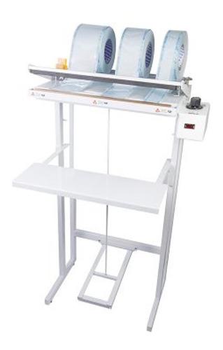 seladora papel grau e plástico agir pedal plus beep 42-cm
