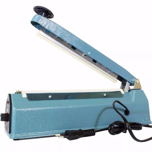 seladora térmica p/ plásticos 30cm 8 temperaturas 300w 110v
