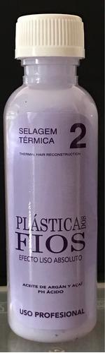 selagem termica cadiveu plastica dos fios  paso 2  120 ml