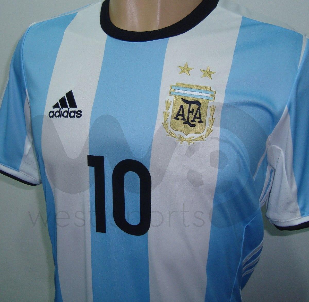 Camiseta Selección Argentina Titular 2016 2017 Messi 10 -   1.799 e69305dec53f7
