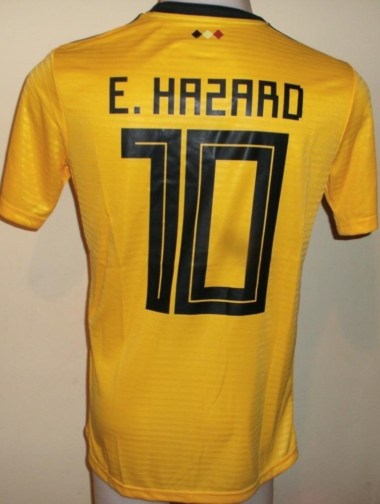 Camiseta Fútbol Selección Bélgica Visita Amarilla Talla L -   23.500 ... 194aca6a82573