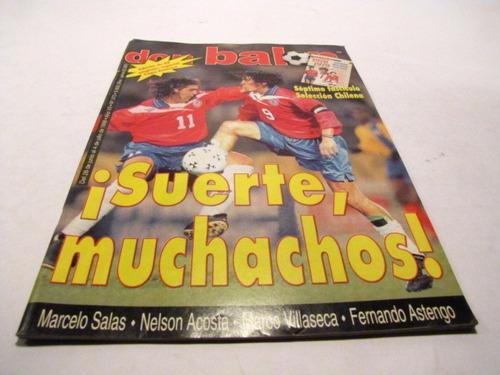 seleccion chilena 1999 revista don balon 373 a 375 (3)
