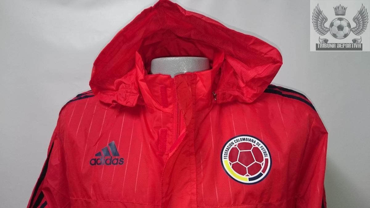 Cargando zoom... colombia 2015 seleccion. Cargando zoom... chaqueta  seleccion colombia oficial 2015 entrenamiento roja 6a57194f1604f