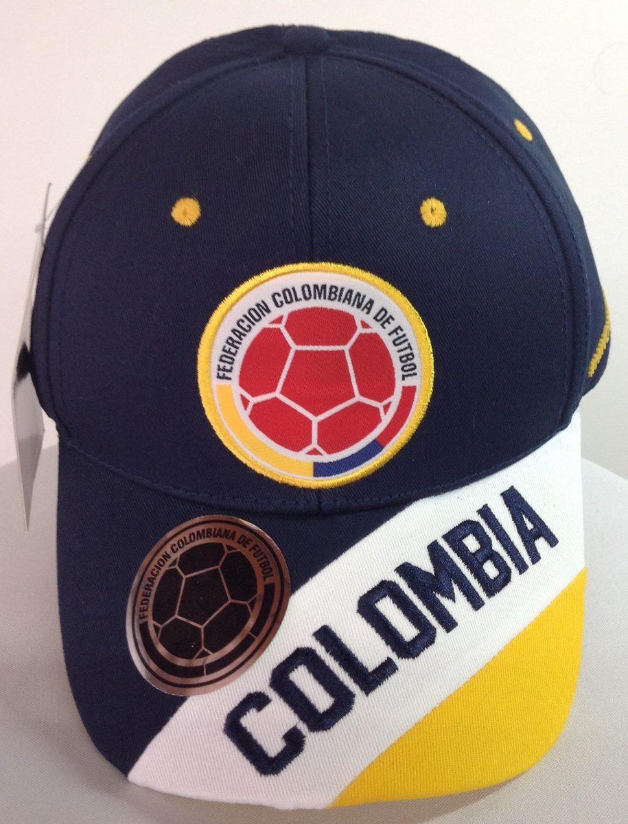11c2a40f85c6d selección colombia de fútbol gorras azules licenciada fcf. Cargando zoom.