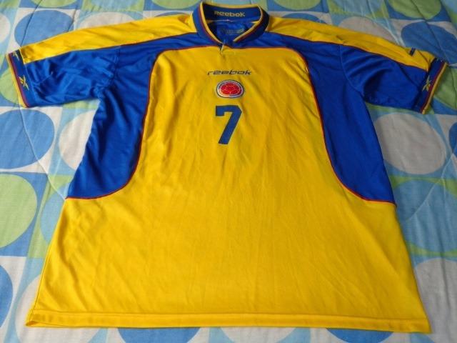 Seleccion Colombia Retro Jersey Futbol -   2 135df2d0a