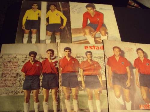seleccion de chile, 1960, 1961, revista estadio (4)