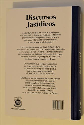 selección de discursos jasídicos de los rebes de jabad