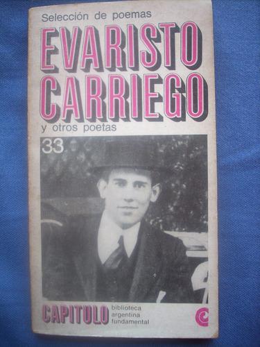 selección de poemas evaristo carriego ceal 1968