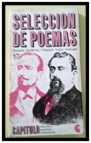 selección de poemas ricardo gutierrez o. v. andrade