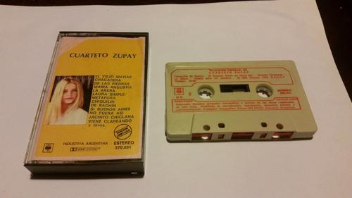 seleccion especial cuarteto zupay cassette nacional