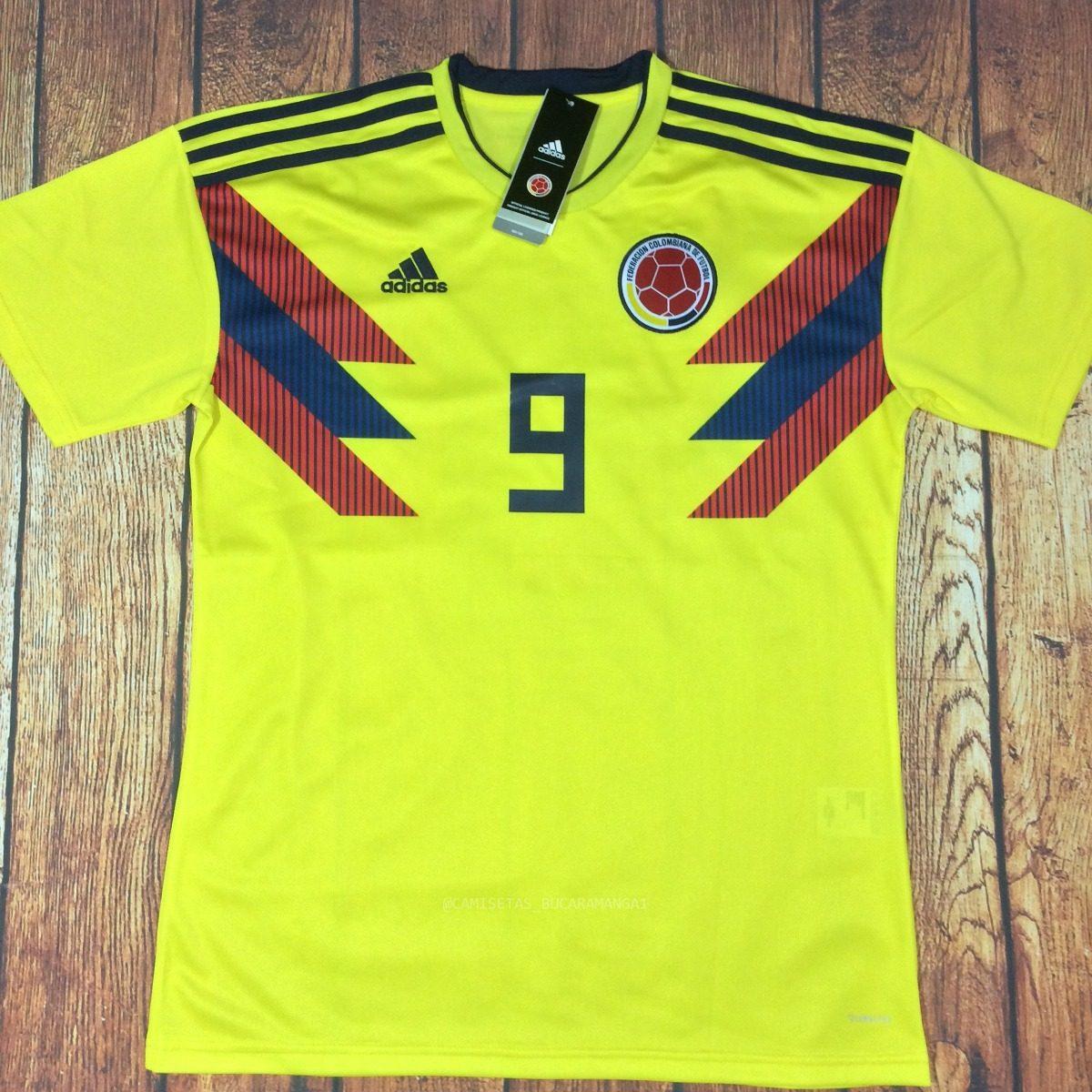 seleccion falcao colombia camiseta futbol adidas climalite. Cargando zoom. d7f31a7096127