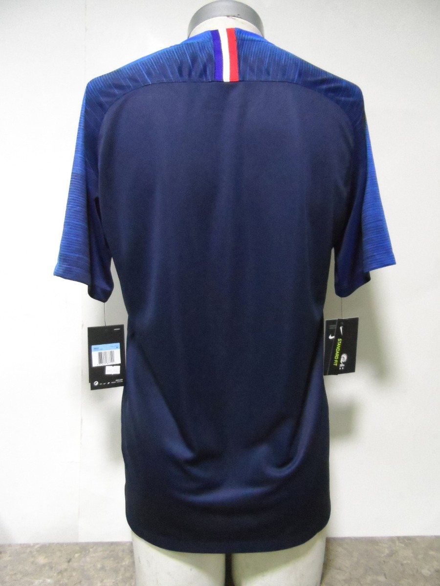 18e267cf19ae9 Camiseta Selección Francia 2018-19 Nike Local Nueva Azul -   34.990 ...