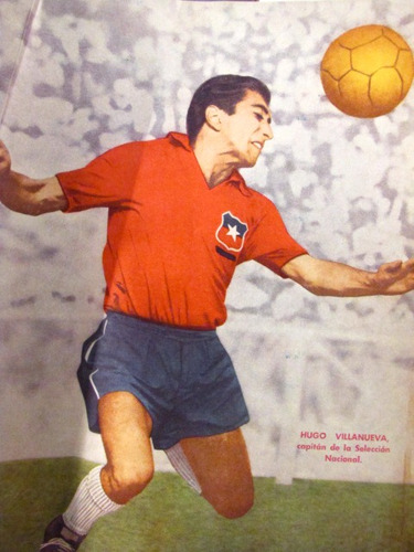 seleccion futbol chile eliminatorias 1966 revista estadio