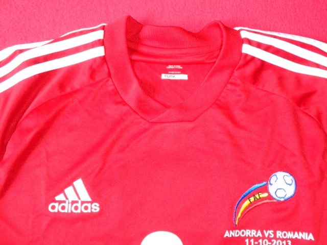 f5ecf9eb368b1 andorra seleccion jersey futbol soccer eliminatorias 2014 · seleccion  jersey futbol