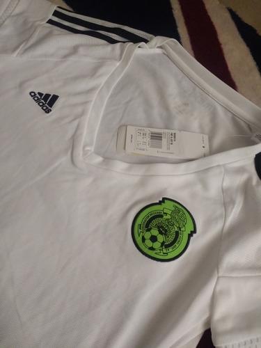 4c3dc740c0de8 selección méxico jersey. Cargando zoom... jersey mujer adidas selección  mexicana 2016 blanco méxico