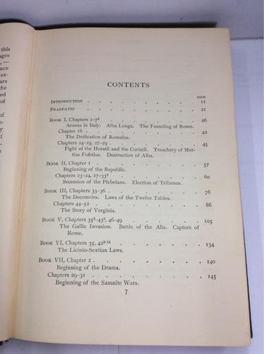 selecciones de tito livio, harry edwin burton, en inglés
