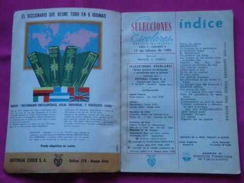 selecciones escolares n° 9 año 1960 vacaciones ed. codex