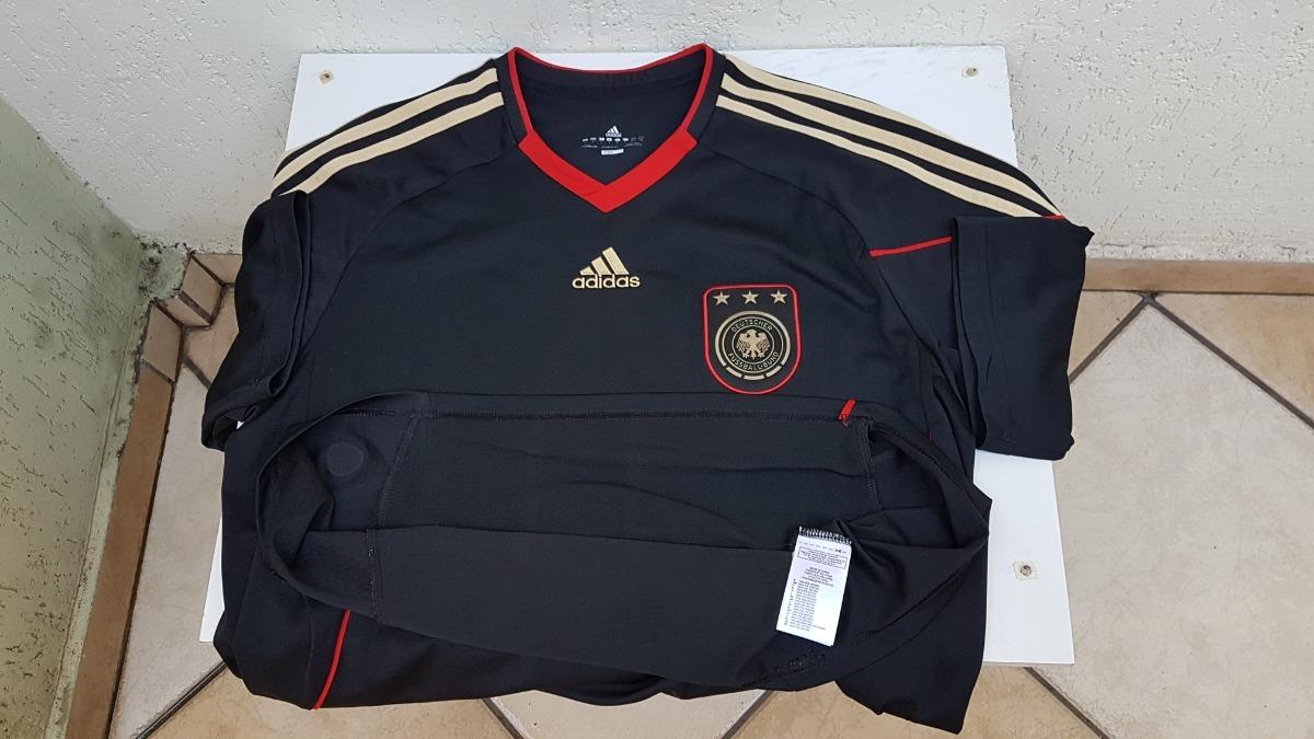 4cd9b2bc3c Carregando zoom... camisa da seleção da alemanha preta 2010 tamanho g