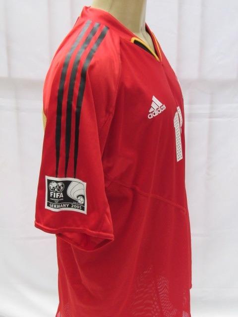 seleção alemanha camisa futebol · camisa de futebol seleção alemanha 2005 -  adidas  13 ballack 8a803f37e3dce