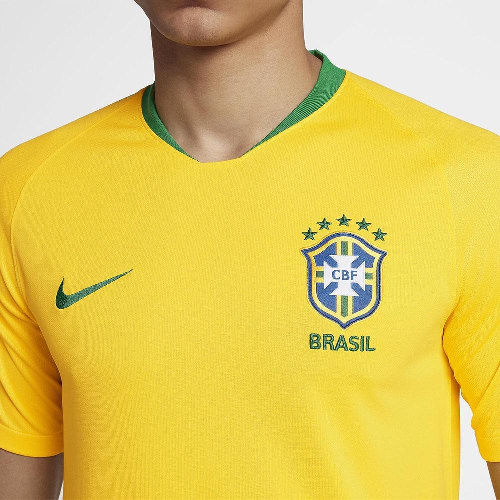 206ddbe93f75e Carregando zoom... camisa nike cbf seleção brasil i 2018 19 torcedor ...