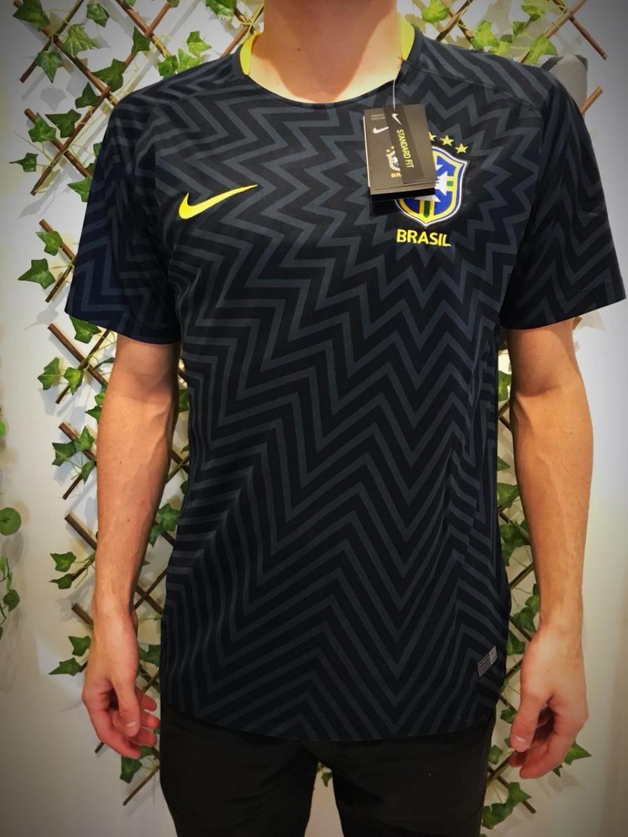 Camisa Seleção Do Brasil Copa 2018 Adulto Amarela Azul Verde - R ... 0ed55f5d0e0ee