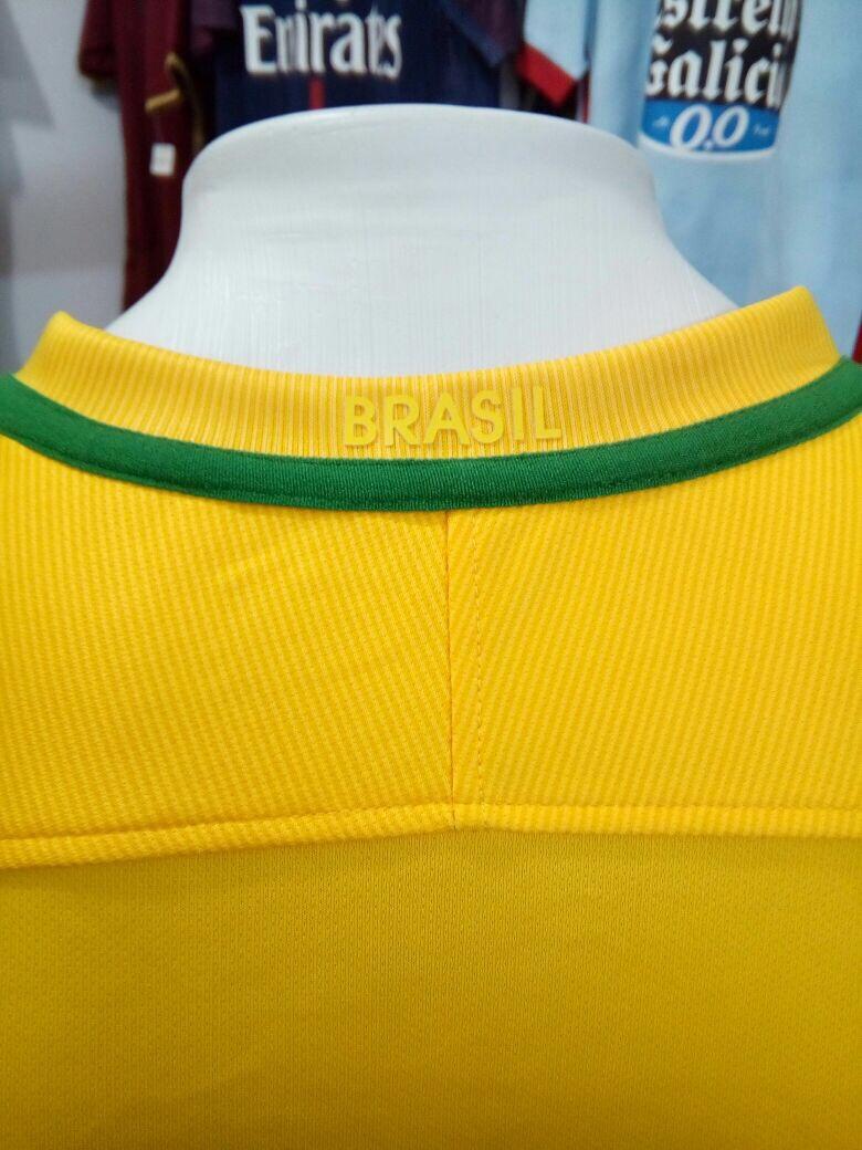 Camisa Nike Seleção Brasil I S nº Torcedor - Amarela - R  130 49a45c625985c