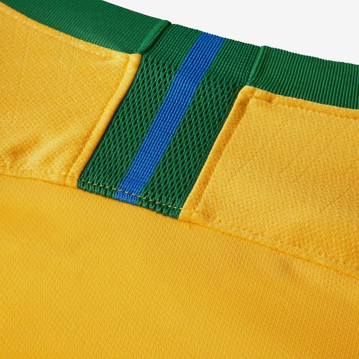3fc32e6536 Kit C  2 Camisa Seleção Brasileira Oficial Brasil Copa 2018 - R  169 ...