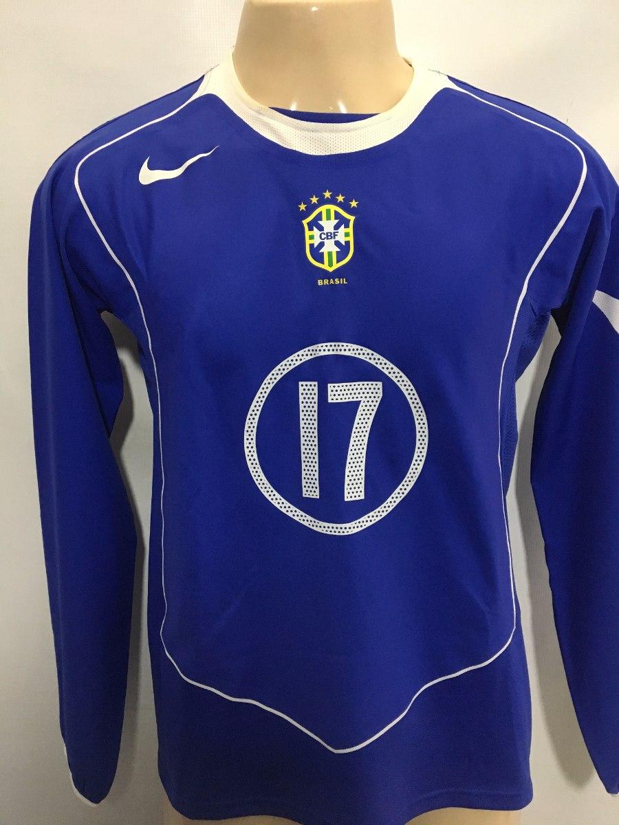 Seleção Brasileira   17 Adriano Correia 2004 Jogo Away Nike - R  220 ... 2174f89125e02