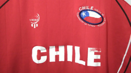 ff5a1f507b Camisa Seleção Do Chile - Modelo Paralelo 2007 2009 - R  29