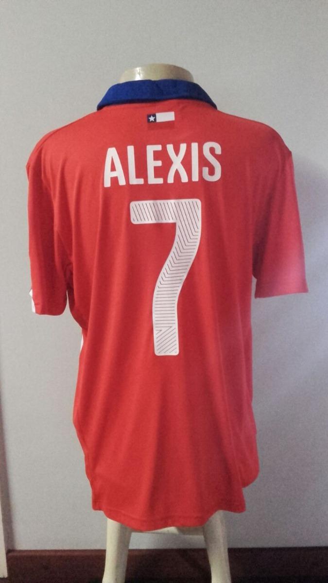 c0bd63d416 Camisa Seleção Do Chile Copa 2014 - Alexis Sanchez - R  140