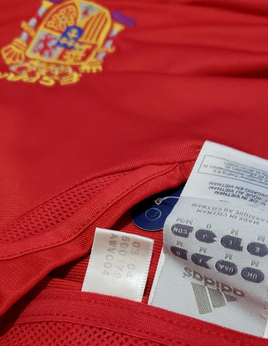 1d0369bda4 Carregando zoom... camisa futebol oficial seleção espanha 2004 home adidas m
