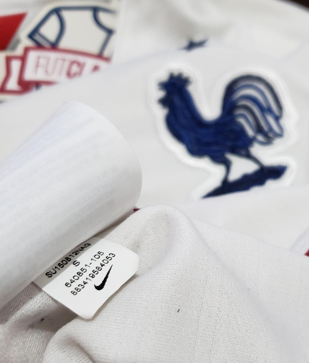 4b82a0e0464c3 Camisa Seleção França 2015 Away Nike  7 Tam P Nova Griezmann - R ...