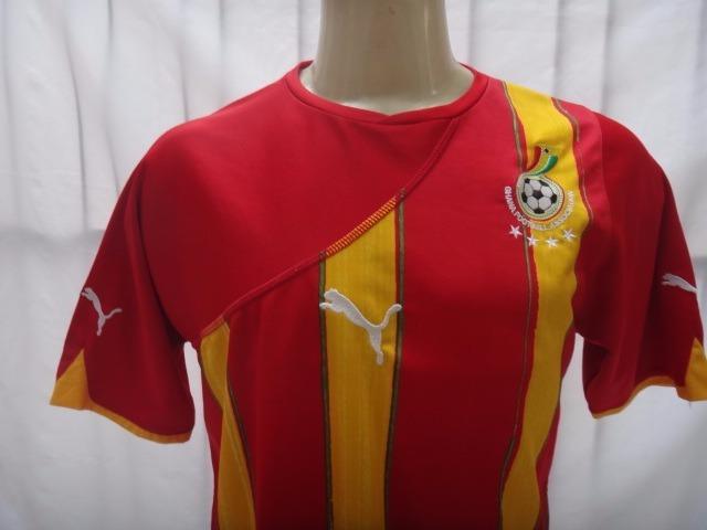 ... modelo copa 2010 puma · camisa futebol seleção gana · seleção gana  camisa futebol 80e6317f09606
