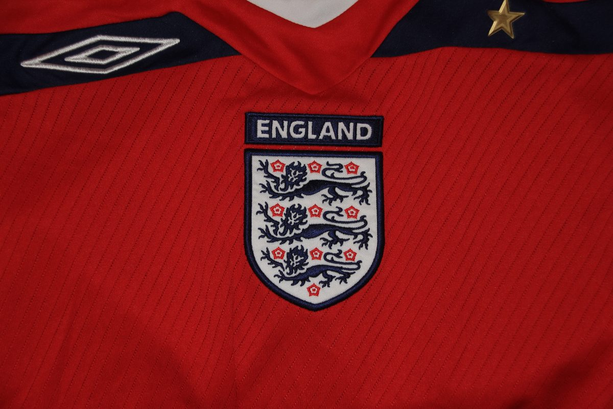 Camisa Oficial Seleção Da Inglaterra - Importada - R  120 4dfff9c08cab5