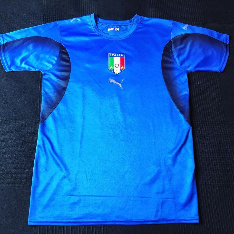 5ab6df2317 Carregando zoom... camisa seleção italia 2006-2008 tam p (69x47) bom estado