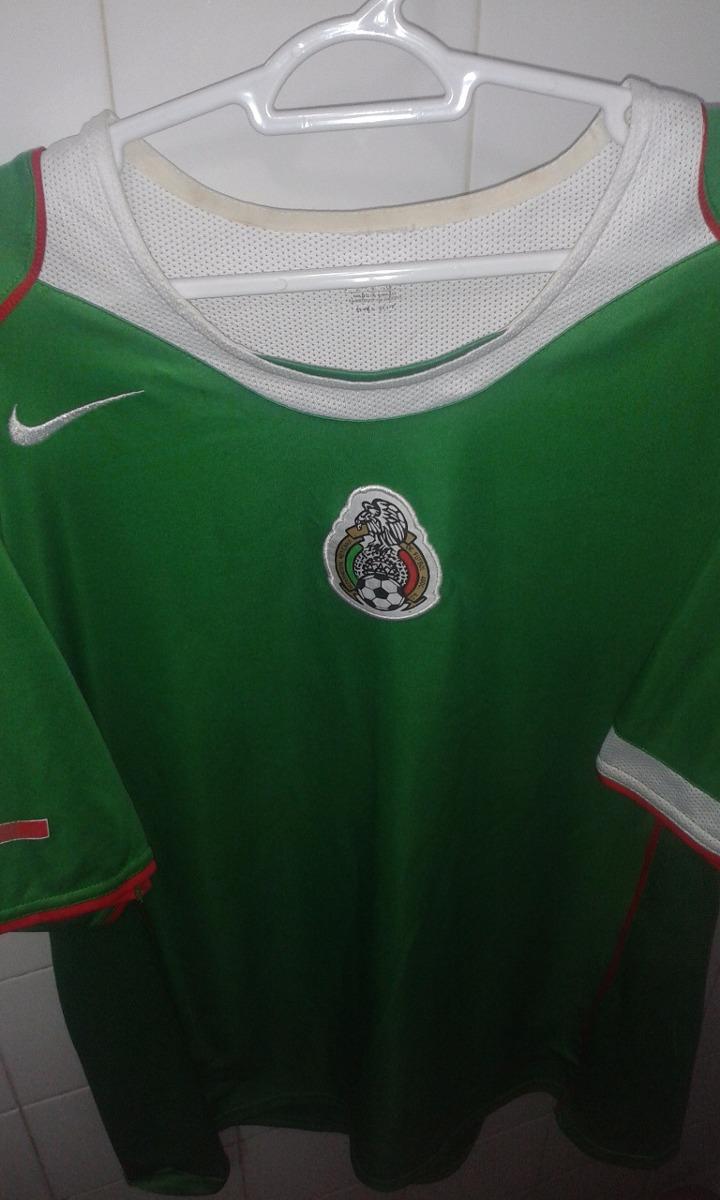 Camisa Seleção Do México 2004 2005   G - R  129 449fe0152ddbe