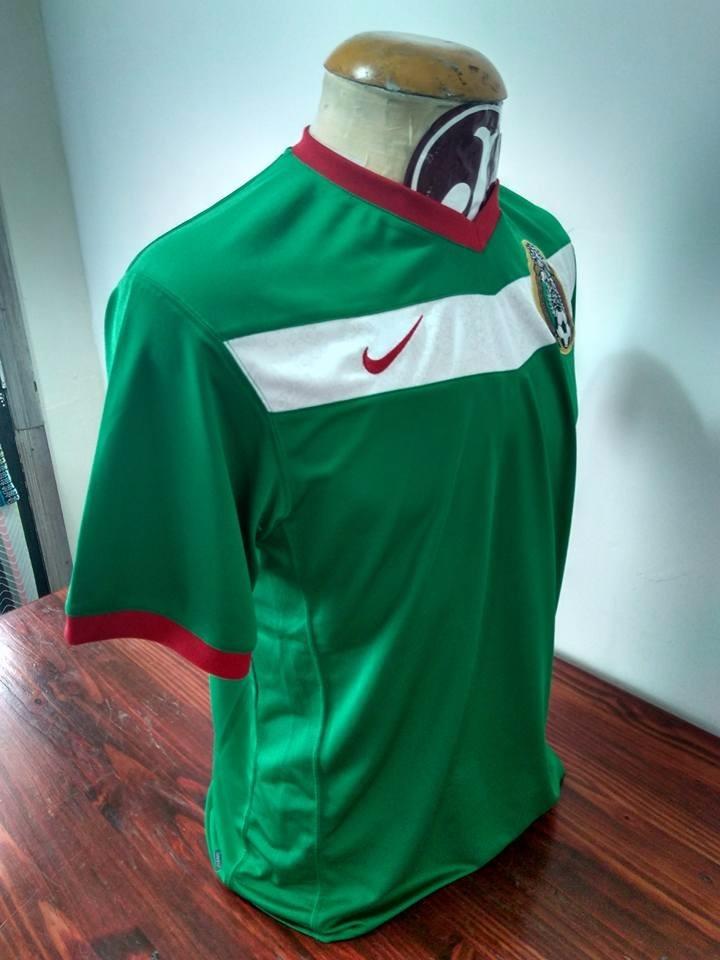 Camisa Seleção México Nike Mexicano - R  110 7bf23a844cdfd