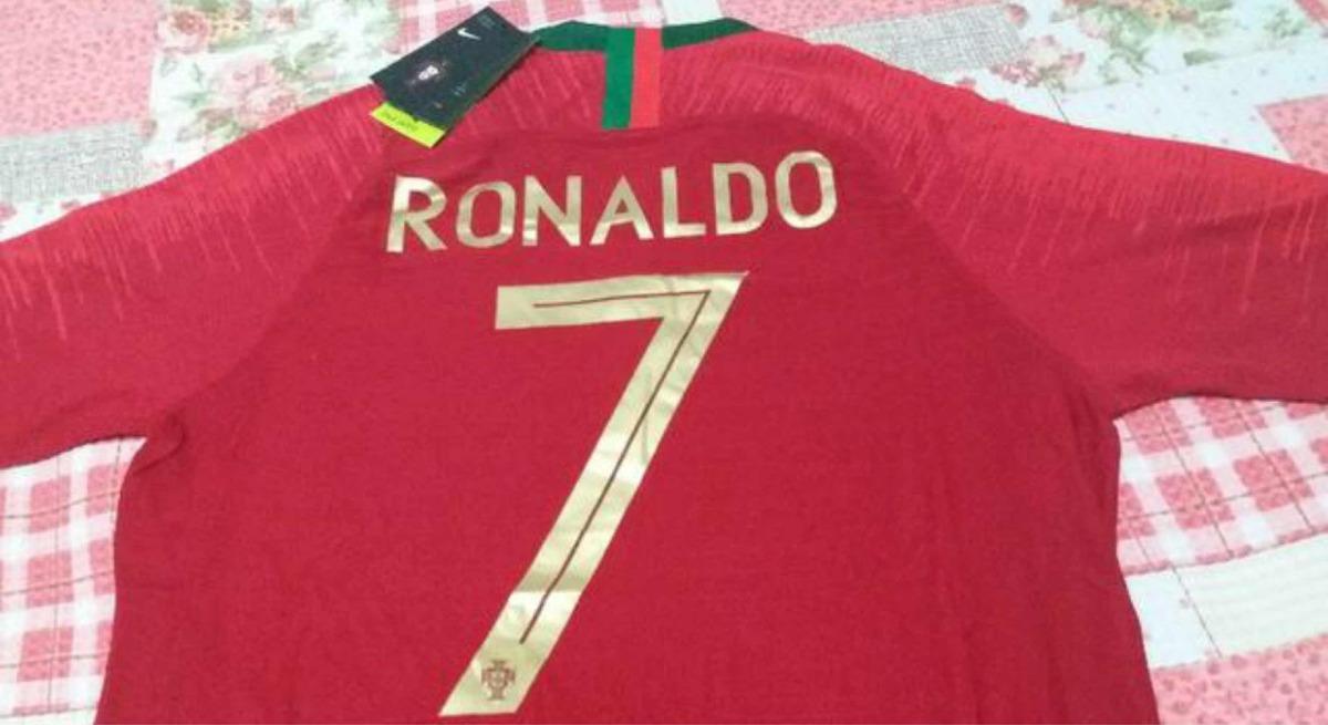 788e6d714f Camisa Seleção Portugal Home Nike 2018 (original) N7 Ronaldo - R ...