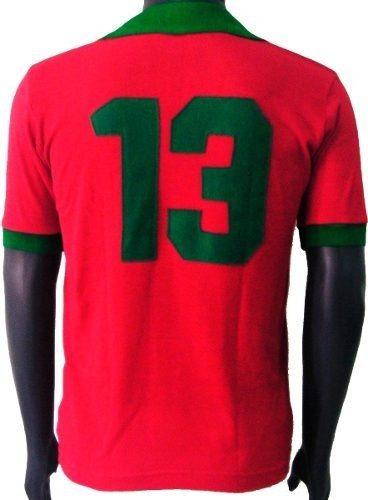 blusa retrô seleção portugal 1972 camisa vintage camiseta · seleção  portugal camisa d20b3811b37a8
