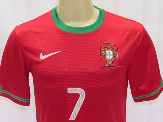 35b1680450 Camisa De Futebol Da Seleção Portugal  7 Cristiano Ronaldo - R  169 ...
