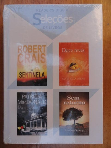 seleções 4 livros reader's digest novo lacrado - a sentinela